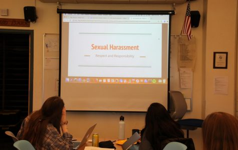 Sexual harassment workshop's second year conducted by English department