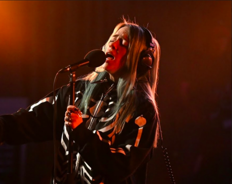 New Billie Eilish single hits high notes while title strikes