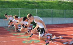 Redwood Track and Field sets a fast pace at their first dual meet