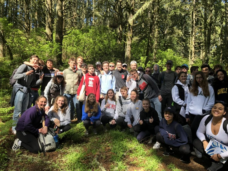 Ecology+students+spent+the+day+in+Point+Reyes+for+a+field+trip.