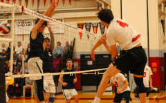 Neon-themed Game Night shows just how bright the boys' volleyball team is