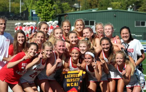 Girls' lacrosse team wins championship after a coach-less season