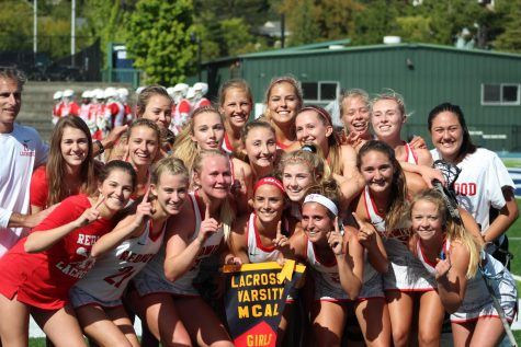 Girls�?lacrosse team wins championship after a coach-less season
