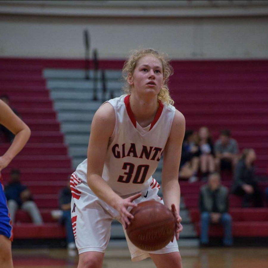 Honorable mention: Jenny Walker dominates the court all four years at Redwood