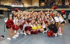 Redwood cheerleaders begin the season at UC Davis camp