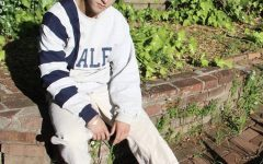 Senior Cooper Sperling sews his way into a new concept of modern fashion