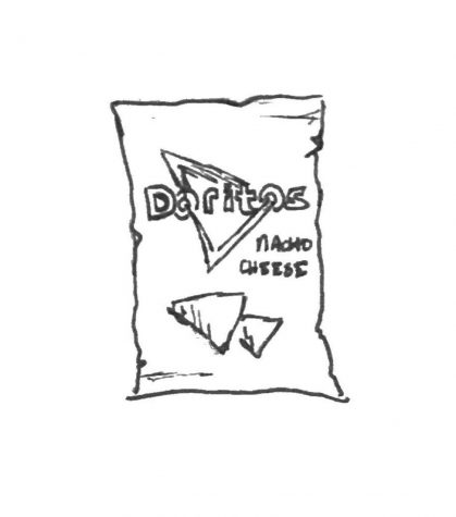 Doritos Nacho Cheese bag