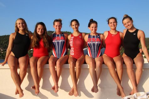 Girls Water Polo splashed into international waters