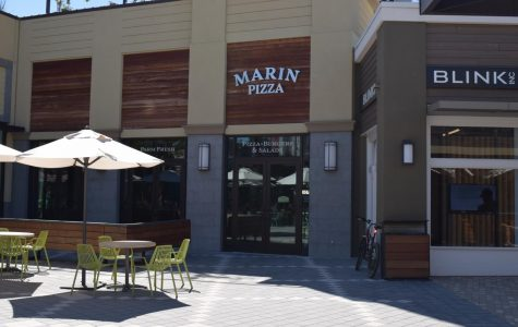 Until a new business takes its place, Marin Pizza remains fully locked, but fully redone at Town Center.