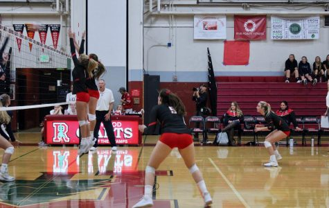 Girls' varsity volleyball battles valiantly against Wildcats but falls short