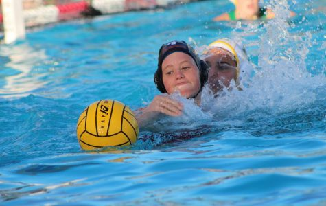 Girls' varsity water polo devastates San Marin Mustangs 17-2