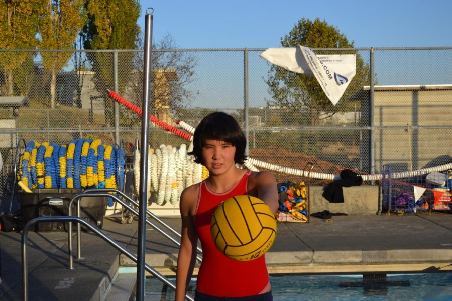 Sports Spotlight: Caitlin Kawamura uses her secret weapon to dominate the pool