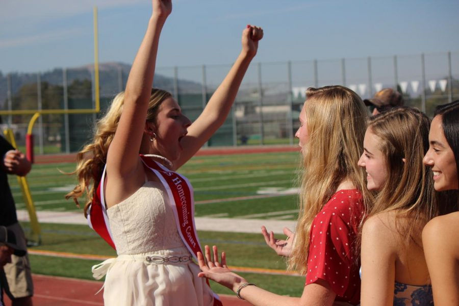 Breaking Homecoming tradition, 2019 was the first year in Redwood's history that a female did not win.