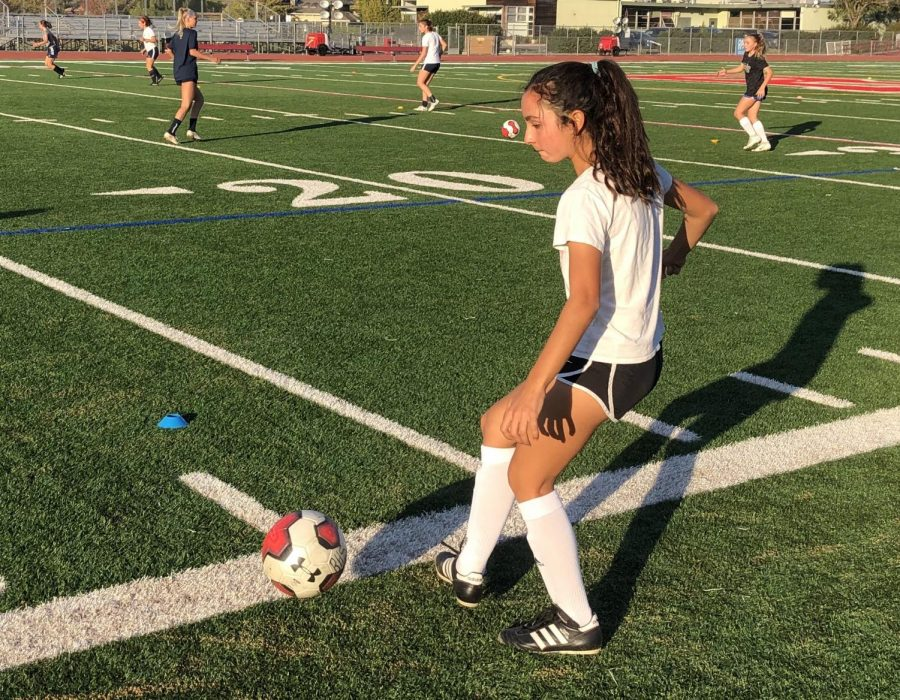 As Fall sports come to an end, Varisty Girls Soccer kicks off their first week of tryouts along with other winter sports.