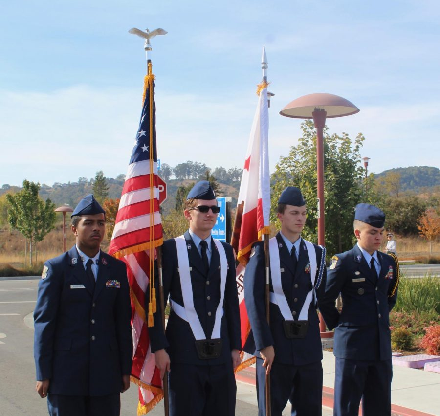 Veterans Day service held at the Marin Civic Center reminds attendants of the days significance