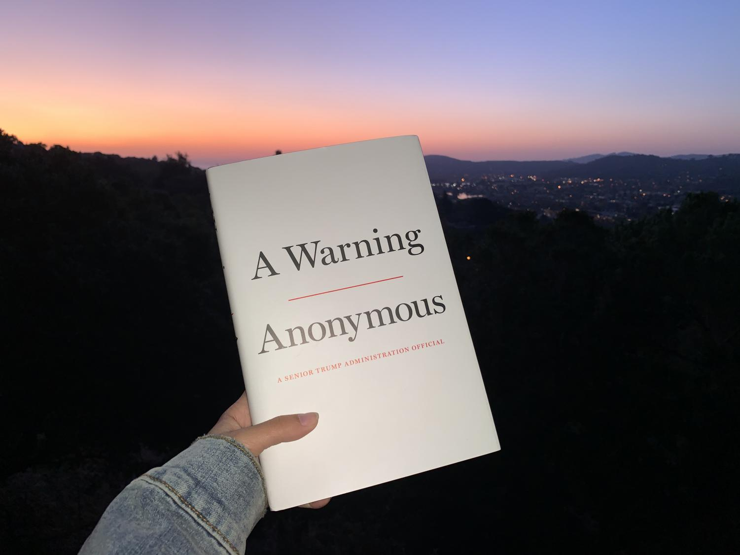 'A Warning' by Anonymous provides an easy read about our current political climate.