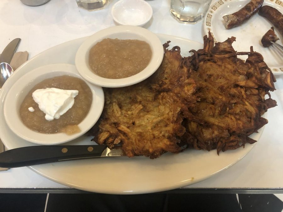 Forget about gingerbread and try these latkes for a tasty holiday experience