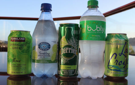 The battle of the best bubbly water brands