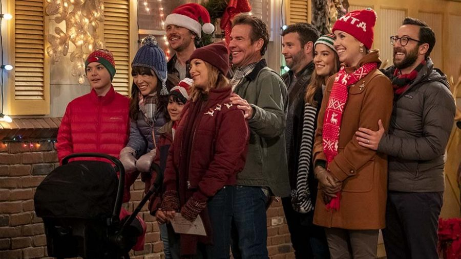 The new Netflix sitcom 'Merry Happy Whatever' lived up to its name as a so-so Christmas special