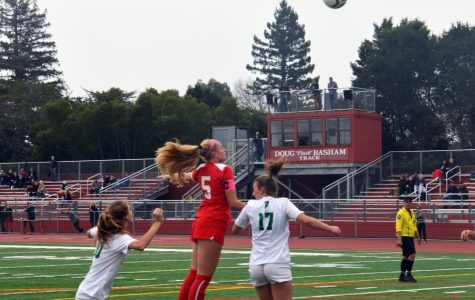 Girls' varsity soccer dribbles right through Drake on their way to playoffs