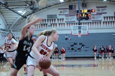 Girls' varsity basketball team remains the only undefeated team in MCAL after victory against Drake