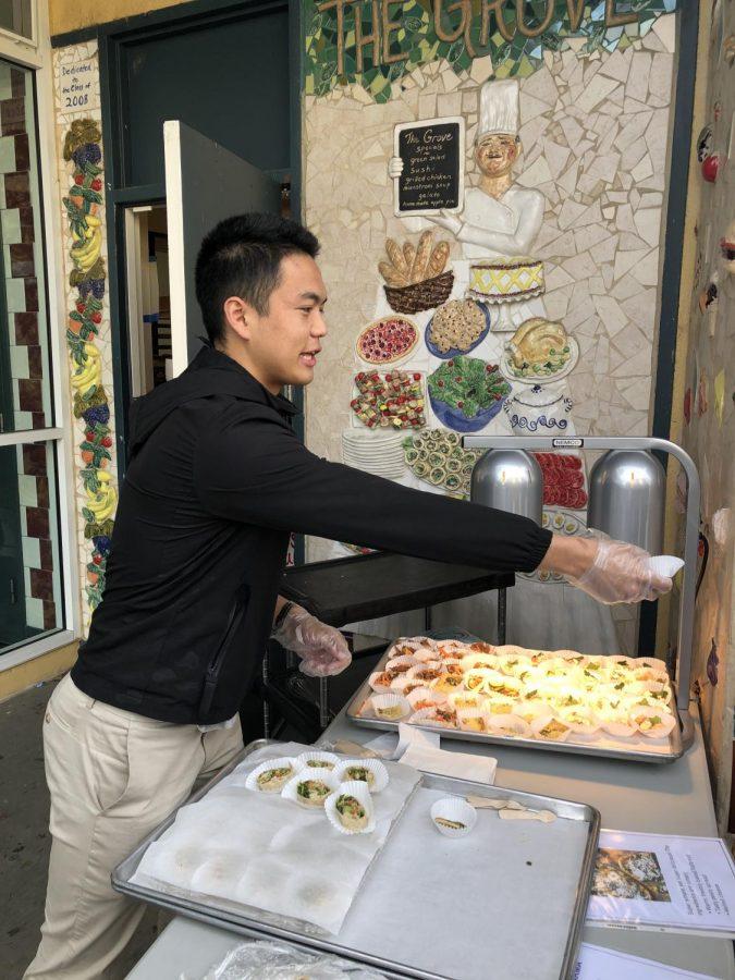Senior Josh Chan, ASB President, has made it a goal to improve the CEA menu.