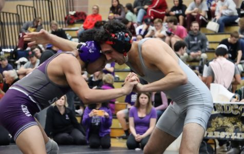 Senior Jaden Ramos inspires his teammates on and off the wrestling mat