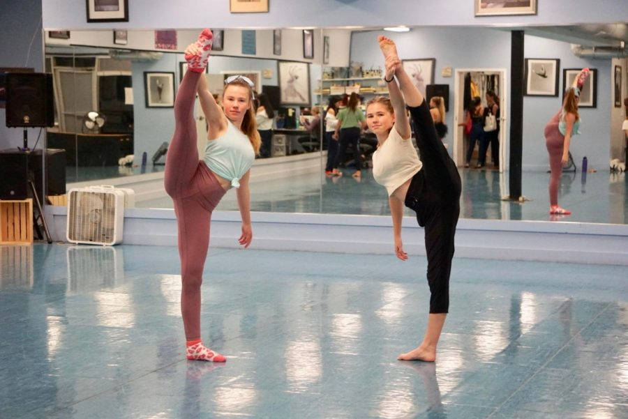The Benyon sisters are 'just dancing' their way through life.