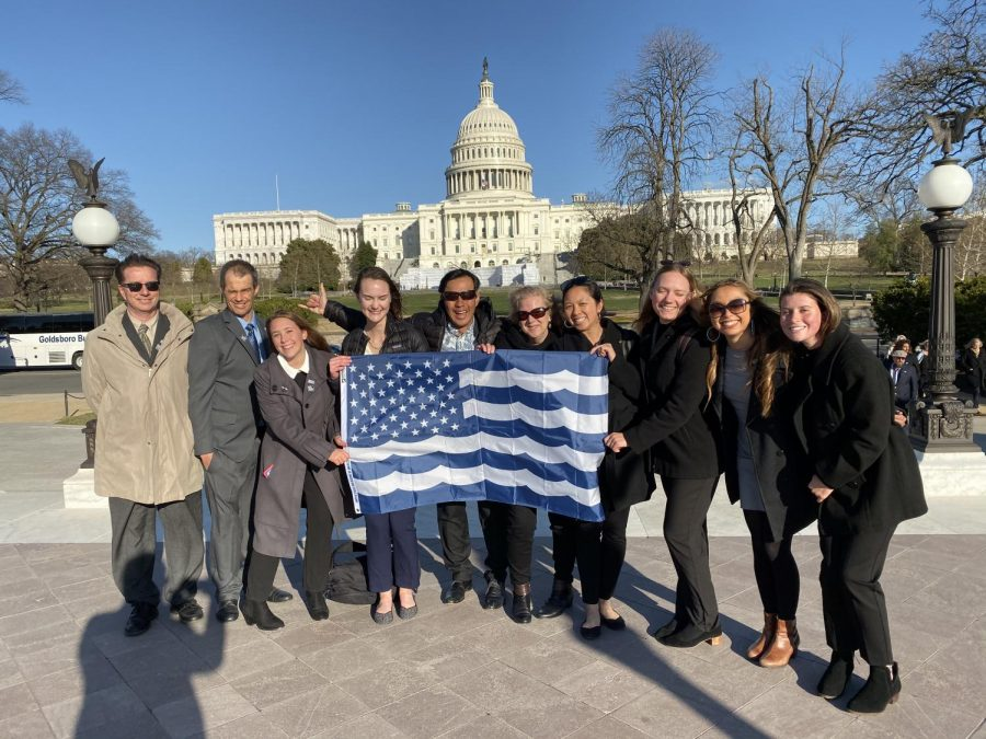 Surfrider Foundation gives Pearl Thompson a voice in Washington DC