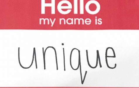 While wearing name tags, unique names are the most exposed and talked about.