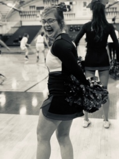 Down syndrome doesn't stop cheerleader Grace Carter from flying high