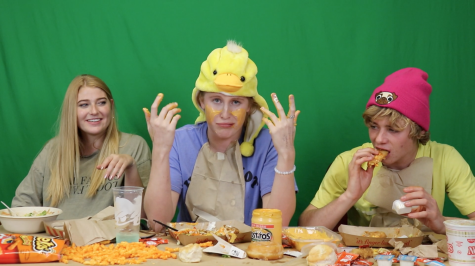 Viewer discretion advised: three crazy blondes mukbang