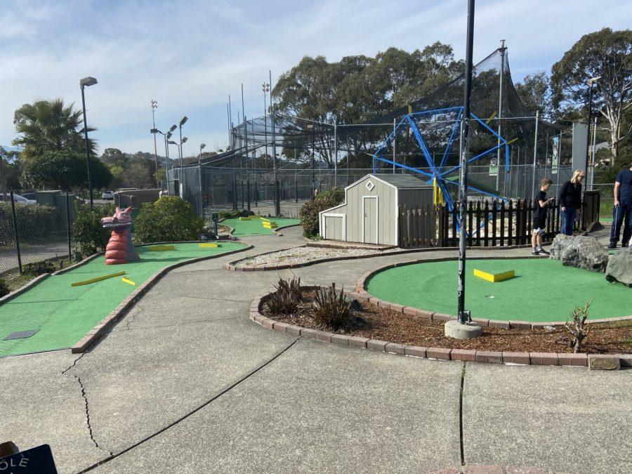 A weekend away at McInnis Park Golf Center