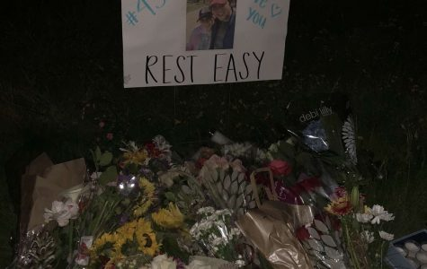 Students commemorate the tragic loss of senior Stewart Fife
