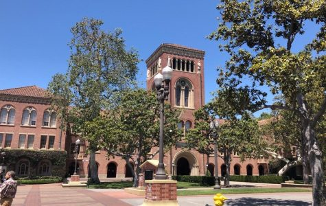 Cancelling in-person classes in the 2020 spring semester, the USC campus is now empty.