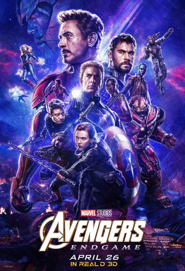 "The poster for the record-smashing global hit, ""Avengers: Endgame."""