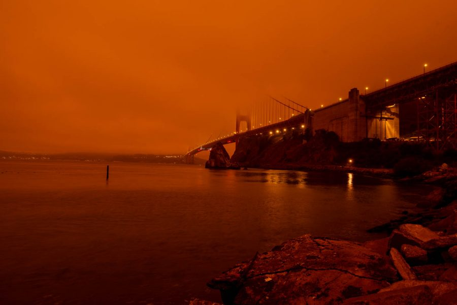 Photo Gallery: Bay Area residents wake up to an apocalyptic scene with orange skies