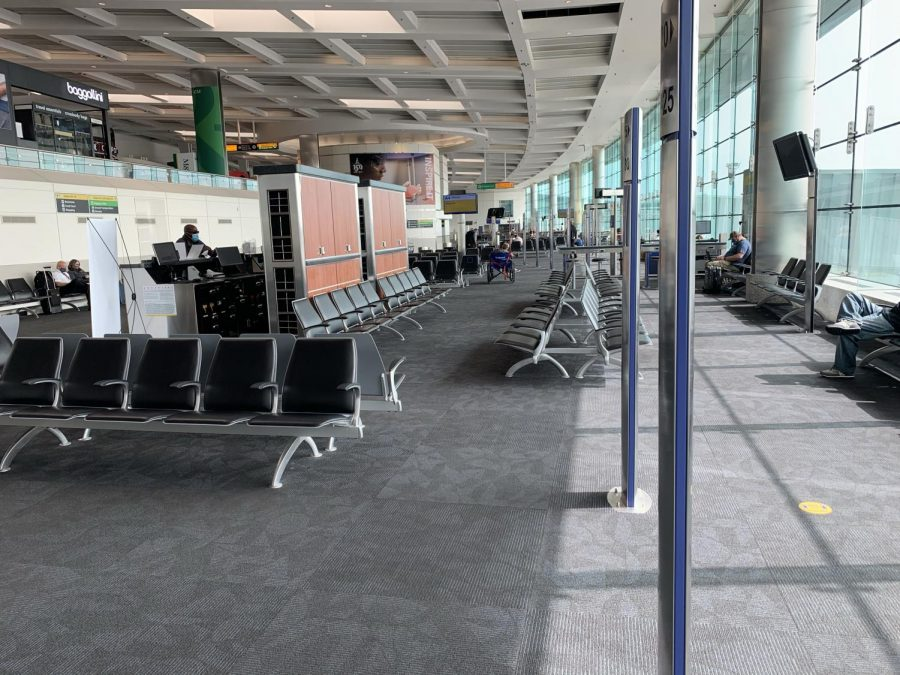 Oakland airport remains empty on what would have been a busy travel day.