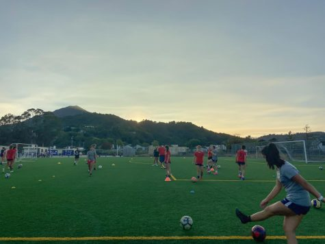 After two weeks of bad air quality, club soccer is finally able to return to practices.