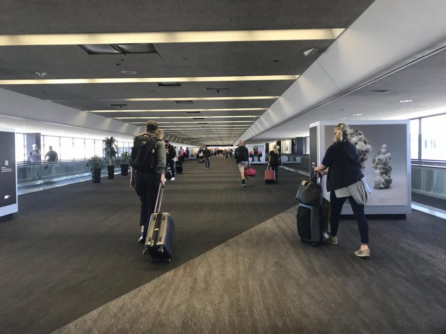 San Francisco International Airport gaining more fliers despite COVID-19 cases remaining high in California.