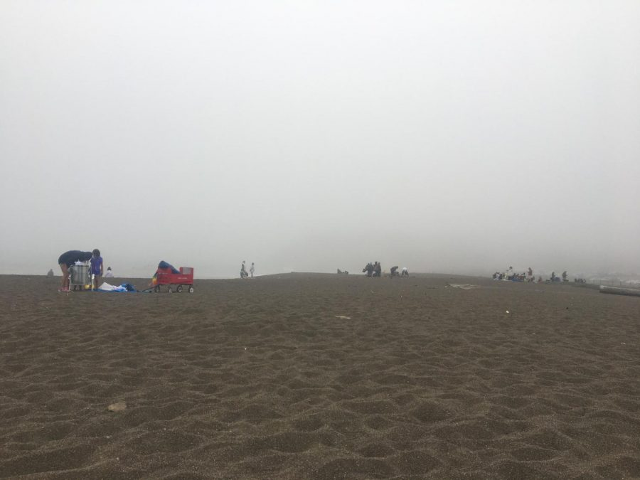 With the extra day off from school last weekend, many students spent time at the beaches near Marin