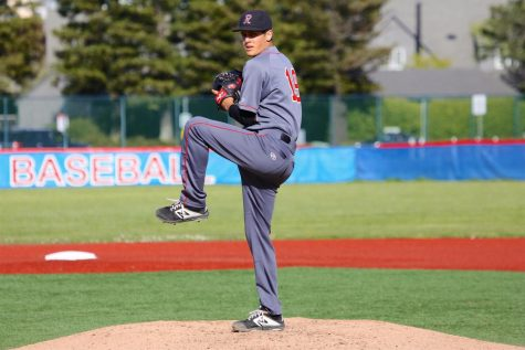 Senior Ben Cohen winds up for a fast recovery post Tommy John surgery