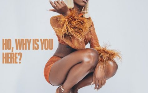 """Marking her spot at the top, Flo Milli shows she is a force to be reckoned with in her debut mixtape, """"Ho, Why is You Here."""" Image courtesy of RCA Records."""