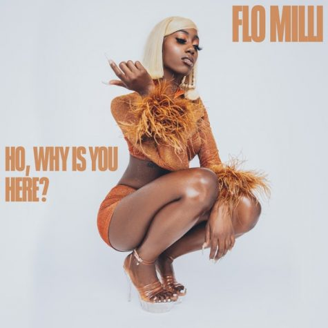 "Marking her spot at the top, Flo Milli shows she is a force to be reckoned with in her debut mixtape, ""Ho, Why is You Here."" Image courtesy of RCA Records."