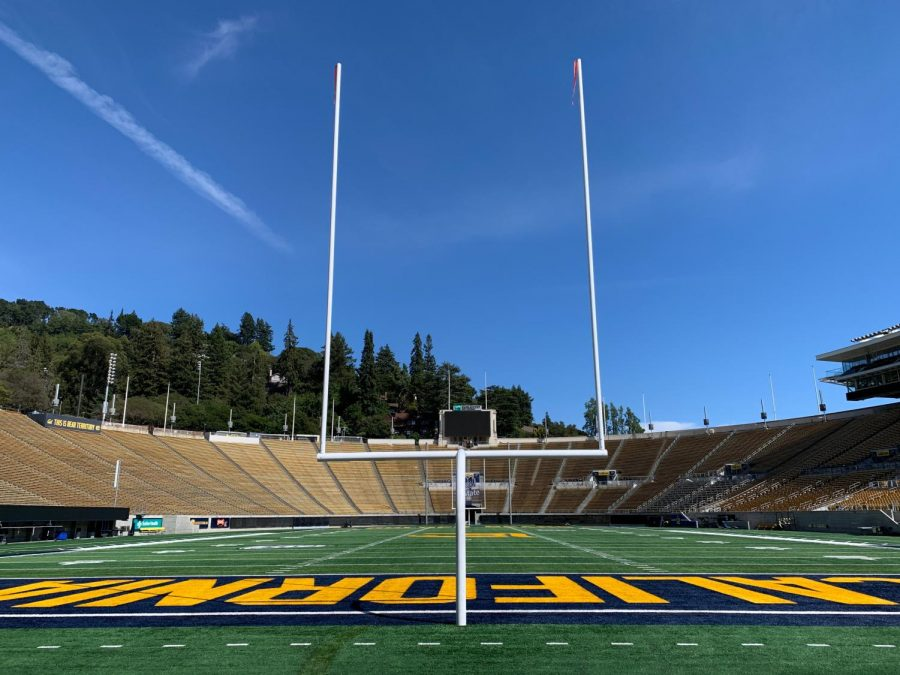 University of California, Berkeley sports field on their campus. (Photo courtesy of Ryo Weng)