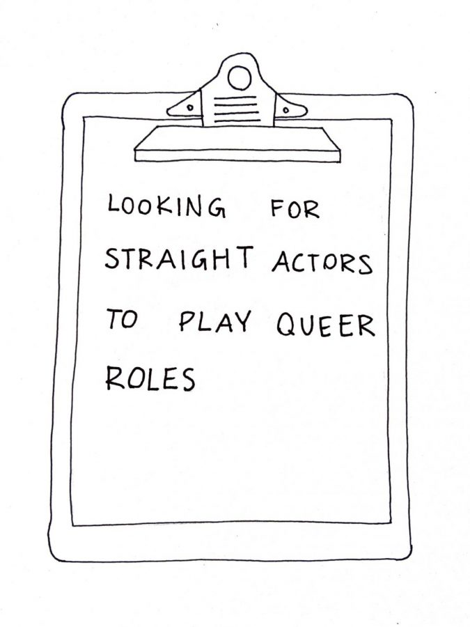 Sexual orientation shouldn't be a factor when you're an actor
