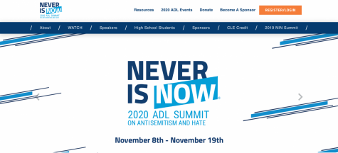 This year, ADL's annual Never is Now summit was held online, including the new Edward Brodsky Student Fellowship program