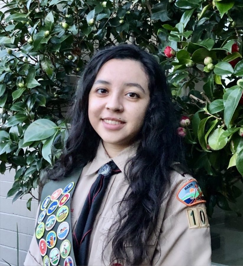 Senior Bella Segovia soars to success as a part of the inaugural class of female Eagle Scouts