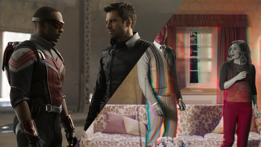 Marvel Studios makes a marvelous return with its first two Disney+ original shows