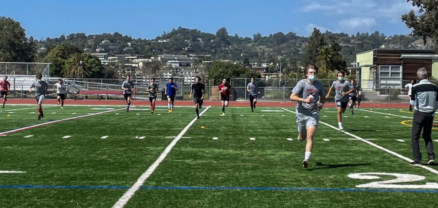 Competition+is+in+the+air+as+spring+tryouts+begin.